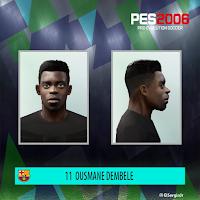 PES 6 Faces Ousmane Dembele by El SergioJr