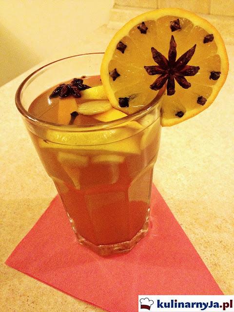 herbata zimowa, herbata rozgrzewająca,