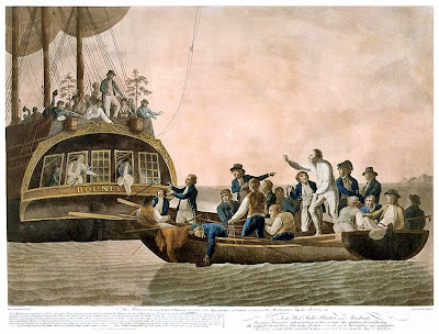 Mutiny on the Bounty - 1789