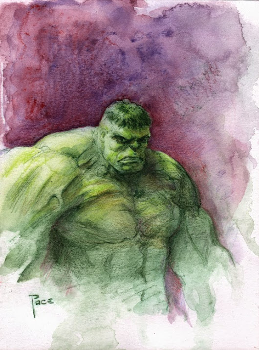 The Inktense Hulk