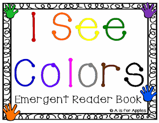 Colors Emergent Reader