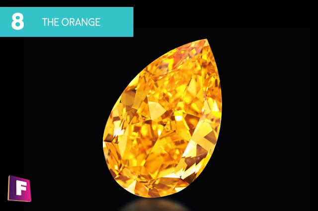 diamantes mas caros del mundo 2017 | puesto 8 the orange - foro de minerales