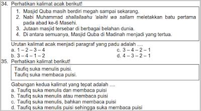 download soal latihan uts genap b indonesia kelas 6 ktsp semester 2 terbaru plus kunci jawabannya tahun 2017