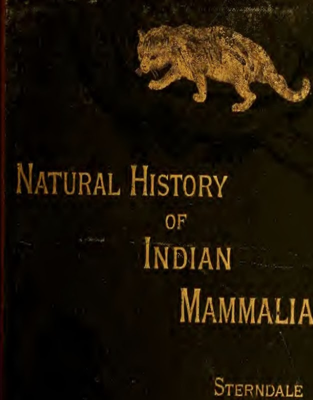 Natural History of Indian Mammalia , free ebook, sterndale