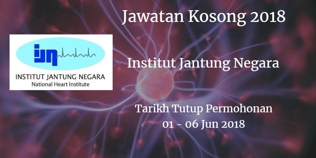 Jawatan Kosong IJN 01 - 06 Jun 2018
