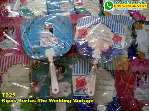 Harga Kipas Kertas The Wedding Vintage