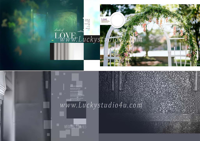 Latest 2018 Photo Album Design Templates Size 12x36 in Psd