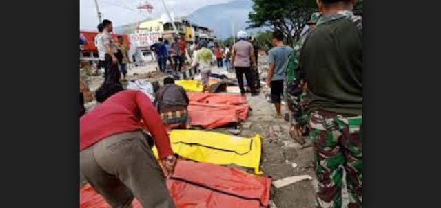 Korban Meninggal Gempa Sulteng 2.256 Orang