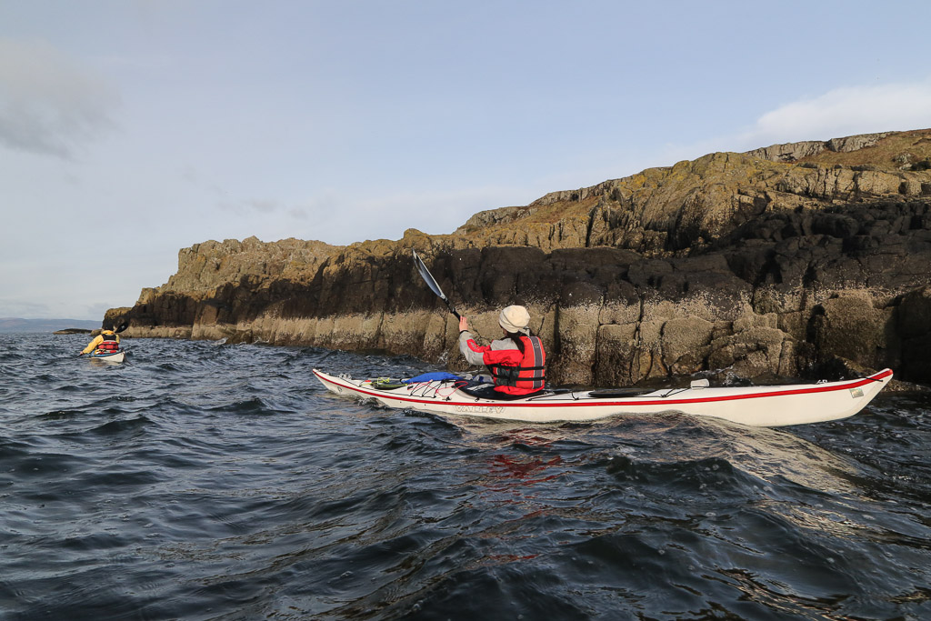Sea kayaking with SeaKayakPhoto.com: Pacing ourselves at