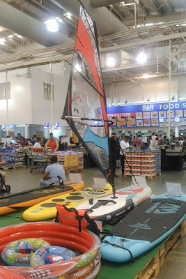 Surfing boards in S&R Shopping