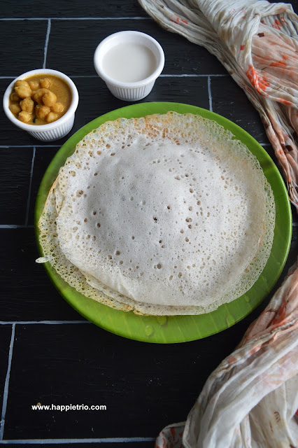 Appam Recipe | Appam without yeast | Palappam Recipe