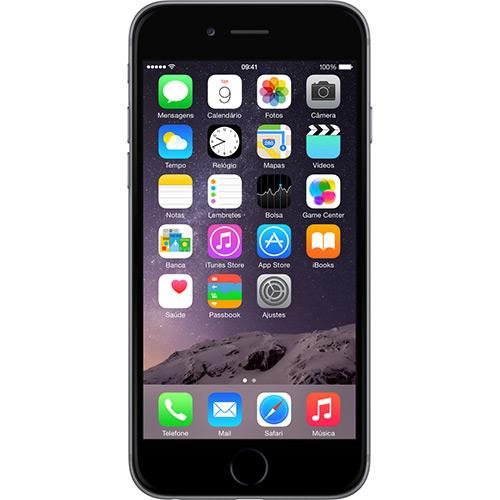 "iPhone 6 16gb tela 4.7"" câmera 8mp"