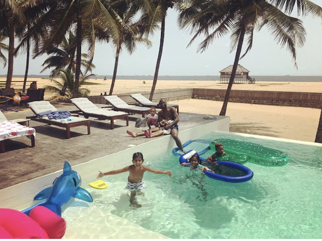 Lovely photos of Peter Okoye with family and friends