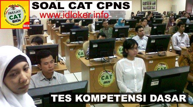 Kumpulan Contoh Soal CPNS Tes Kompetensi Dasar