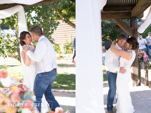 First Dance, Wedding photography Vancouver WA