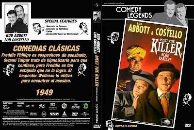 Abbott y Costello Contra el Asesino | 1949 |  Abbott and Costello Meet the Killer, Boris Karloff
