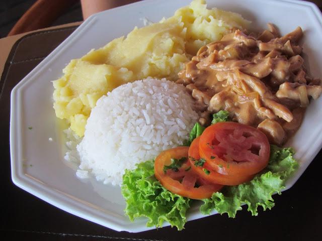 Almoço do Visual Praia Hotel