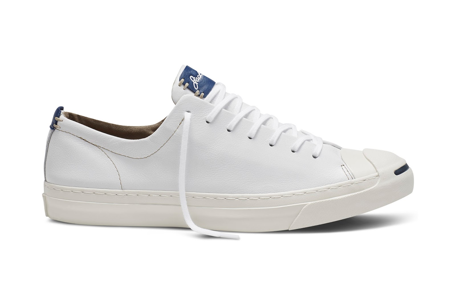 c755c3f39d31 ... leather upper with details including a post-applied Jack Purcell logo  on the tongueand punched eyelets for a smooth quality finish.