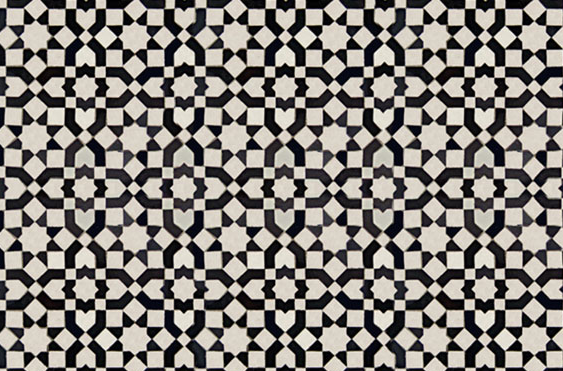 BLACK & WHITE TILE DELIGHT! | COCOCOZY