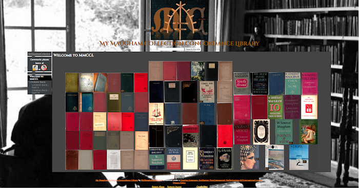 My Maugham Collection Concordance Library