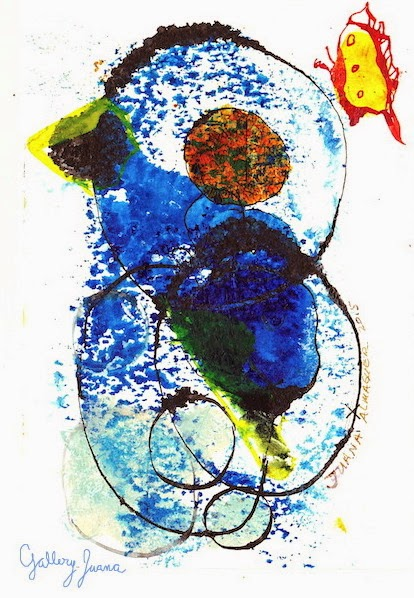 Abstract Bird, gallery juana