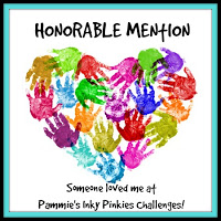 Honorable Mention at Pammie's Inky Pinkies