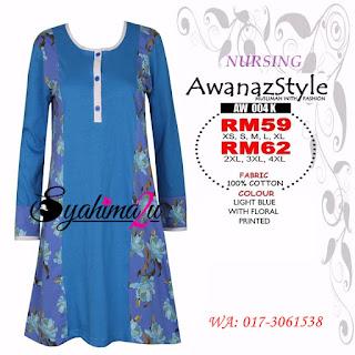 T-Shirt-Muslimah-Awanazstyle-AW004K