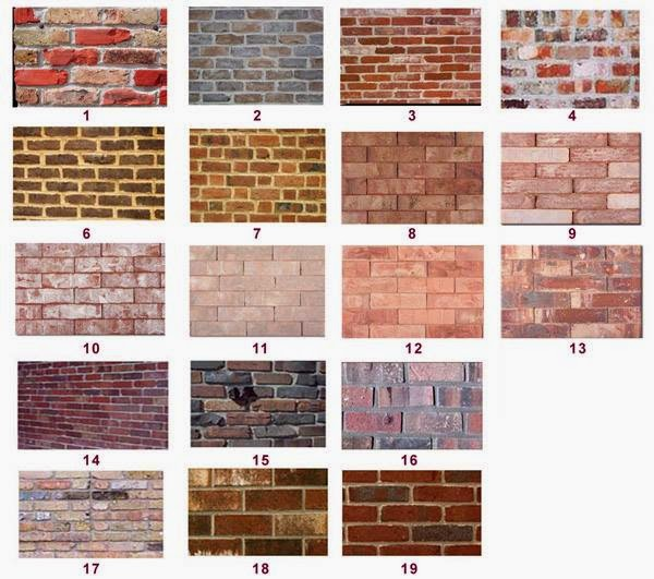 Types of bricks know your civil - Types of exterior finishes for homes ...