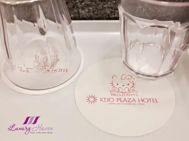 keio plaza hotel tokyo hello kitty coasters