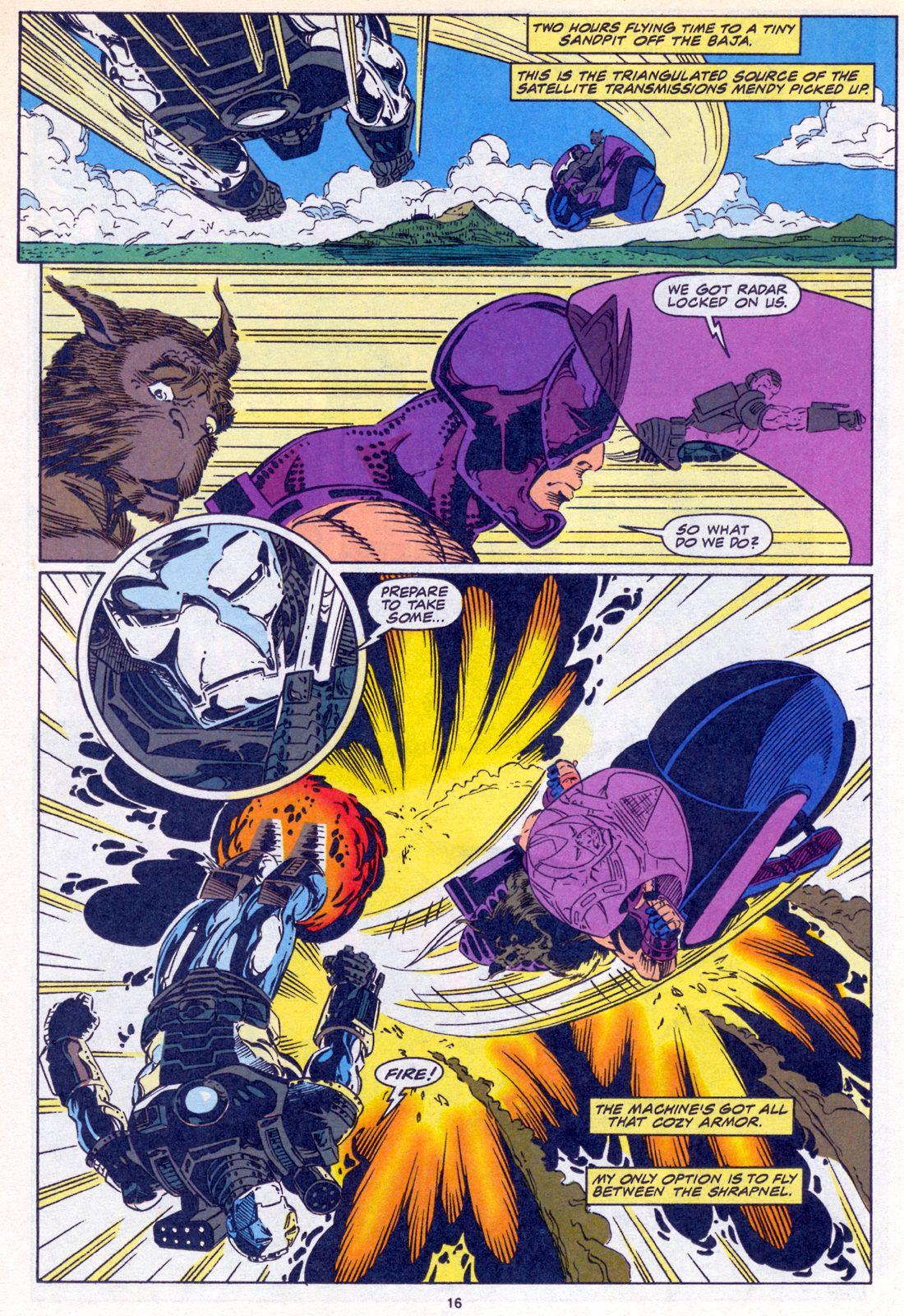 Hawkeye (1994) Issue #3 #3 - English 12