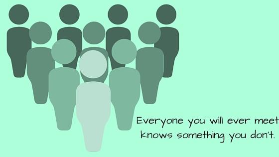 lubię poznawać nowych ludzi