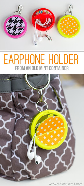 http://www.makeit-loveit.com/2015/05/make-an-earphone-holder-from-a-mint-container.html