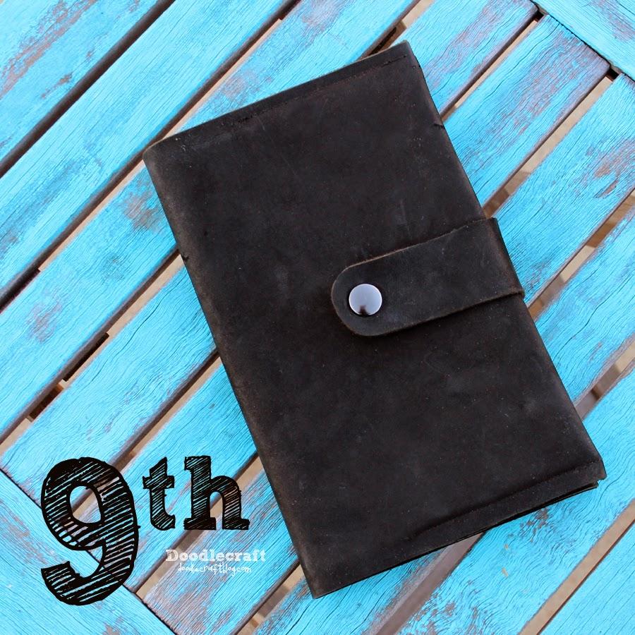Doodlecraft Christopher Eccleston Black Leather Book