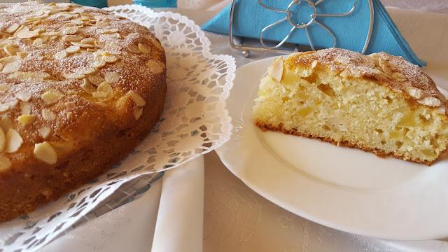 Ябълкова торта с бадеми - Sofficissima