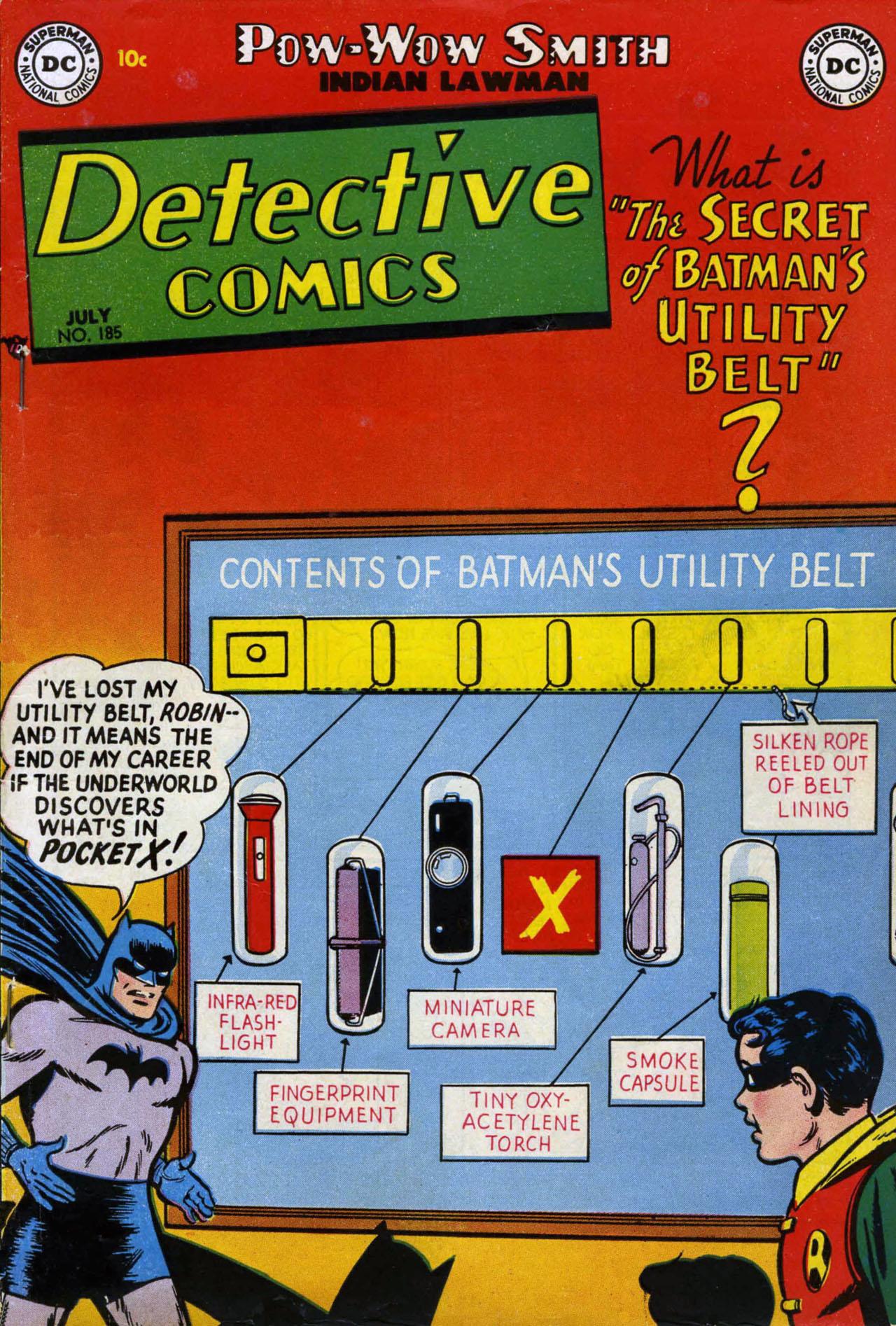 Detective Comics (1937) 185 Page 0