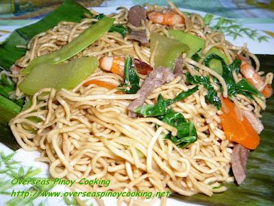 Pancit Lucban, Pansit Hab-hab Recipe