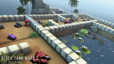 Block Tank Wars 2 Premium Mod Apk Hack Money-Ad-Free