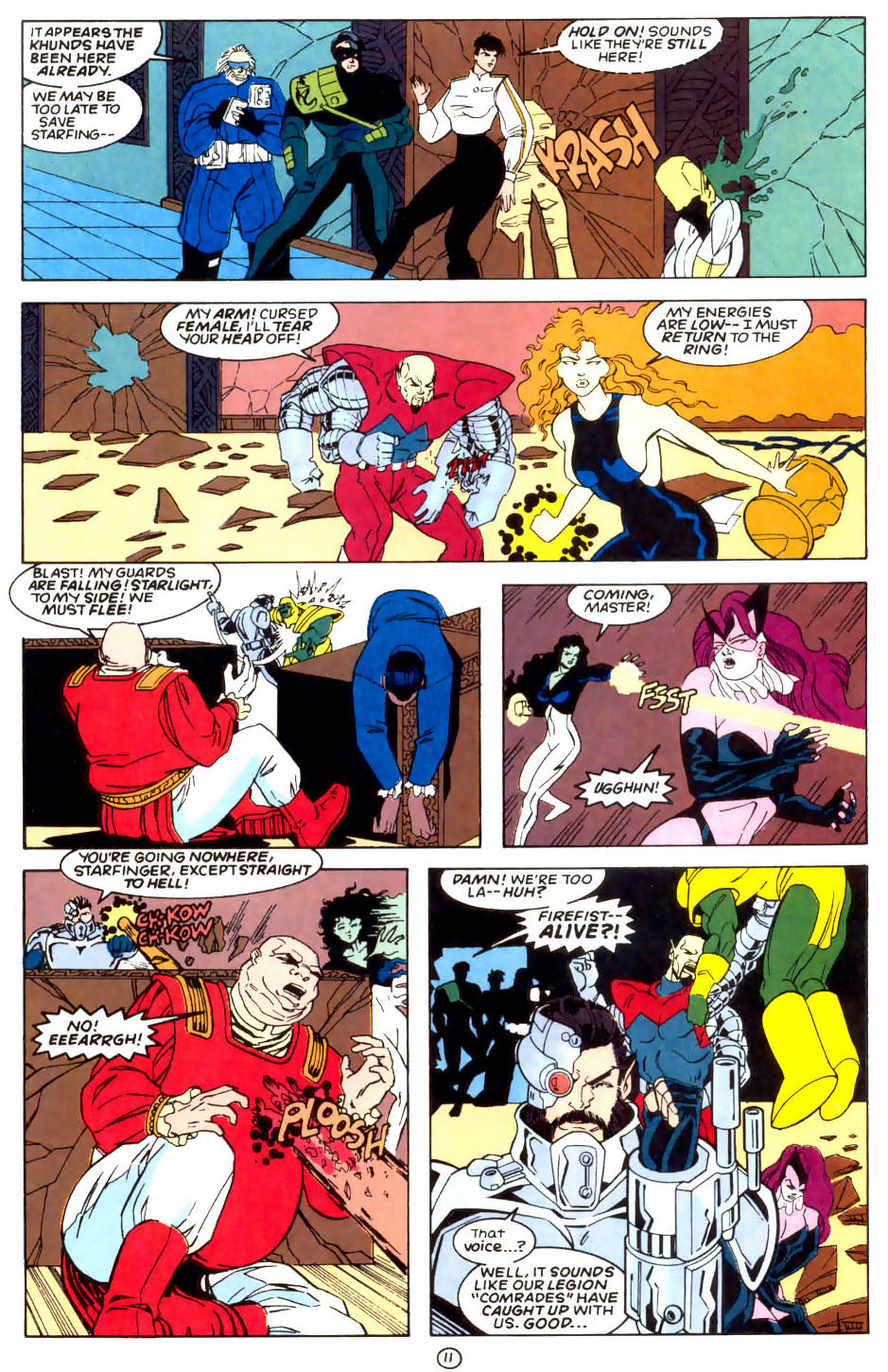 Legion of Super-Heroes (1989) 57 Page 11