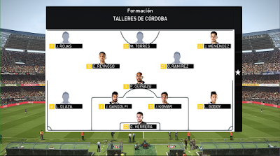 PES 2018 Scoreboard Superliga Argentina by Jimmy99