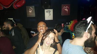 Gettin' crazy in the bar