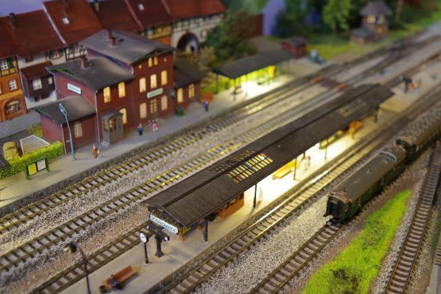 wielka makieta kolejowa
