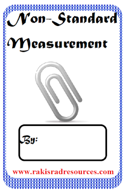 Free non-standard measurement booklet for first grade math - from Raki's Rad Resources.
