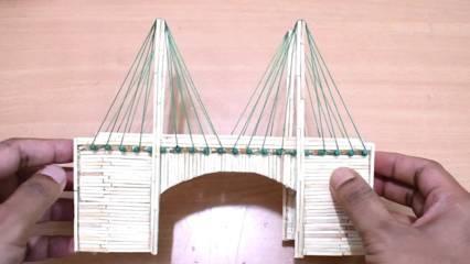 Membuat Miniatur Jembatan