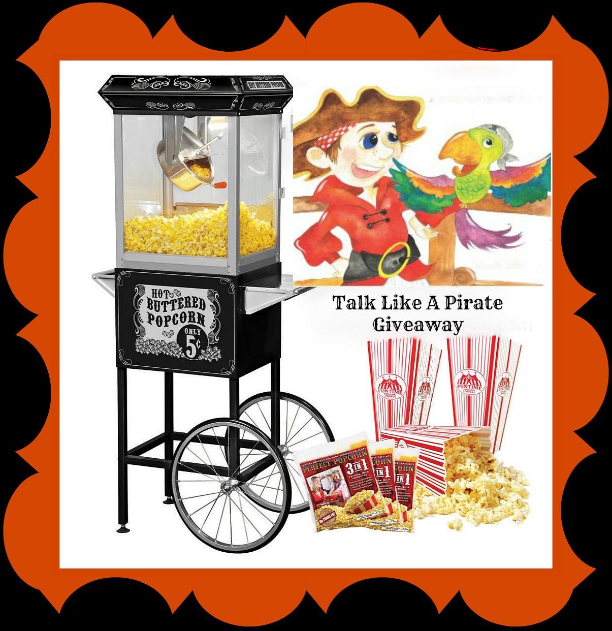 Carole P Roman Talk Like A Pirate Giveaway