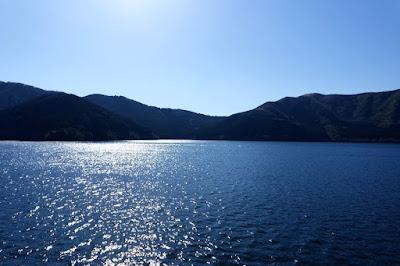 Lake Ashinoko at Hakone Japan