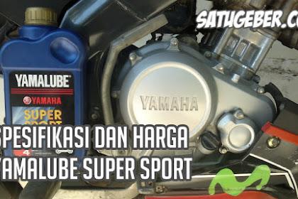 Spesifikasi dan Harga Oli Yamalube Super Sport