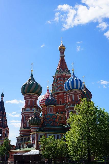 Изображение Храма Василия Блаженного с куполами