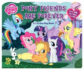 MLP Pony Friends Are Forever Book Media