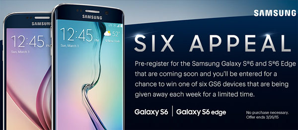 Sprint's Galaxy S6 teaser suggests March 26 launch