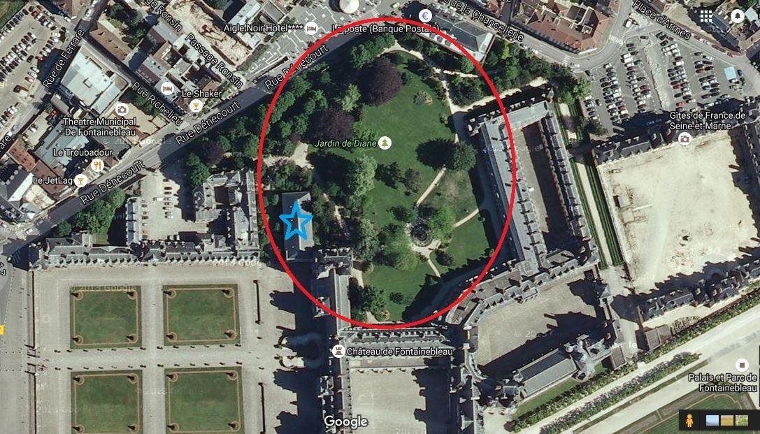 Paris bise art ch teau de fontainebleau 12 le jardin for Jardin anglais chateau fontainebleau
